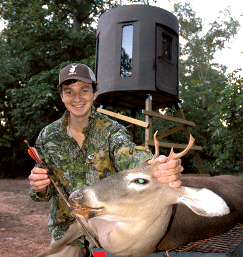 Sam Kilkenny was the second Field to Fork participant to get a deer.